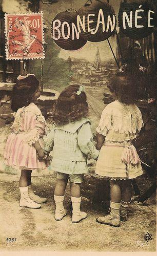 Three girls in france-2