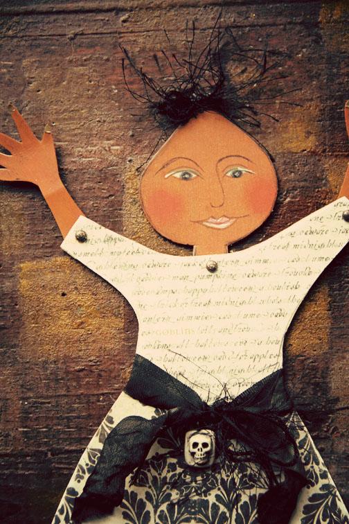 Pumpkin girl- details