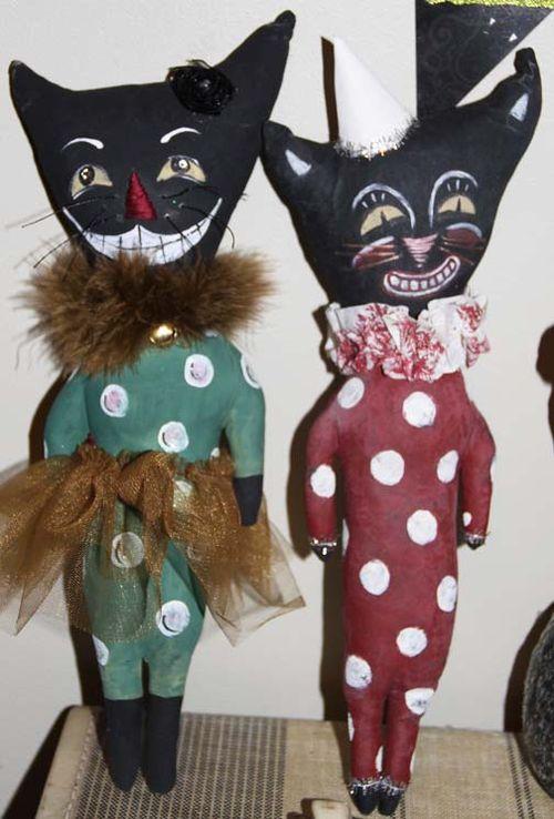 Senta and Eden's kitties