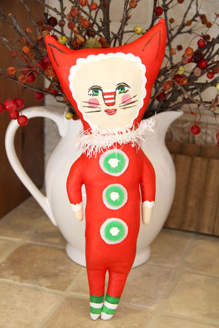 Christmas Kitty- Judy Wise-2