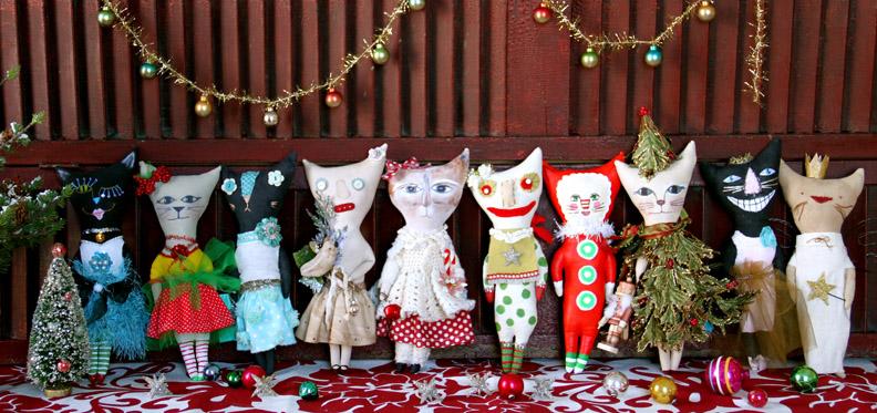 All the kitties