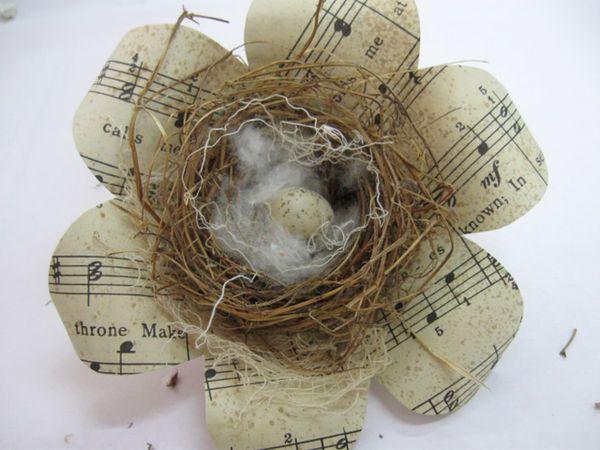 Flower nest