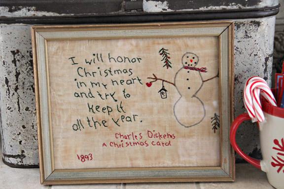 I will honor Christmas
